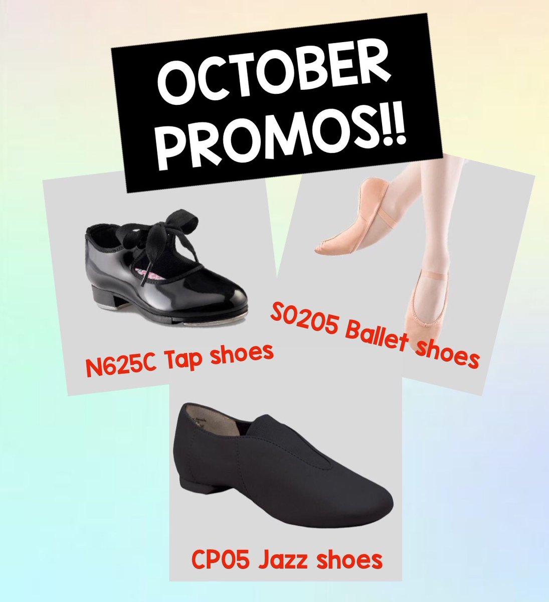 Remember that we've extended our PROMOS until the end of October! Shop now! . #mirenasfashions #dancewear #sale #octobersale #dance #danceshoes #dancelife #lovedance #mississauga #toronto #oakville #brampton #onestepahead https://t.co/sqEudlQzpV