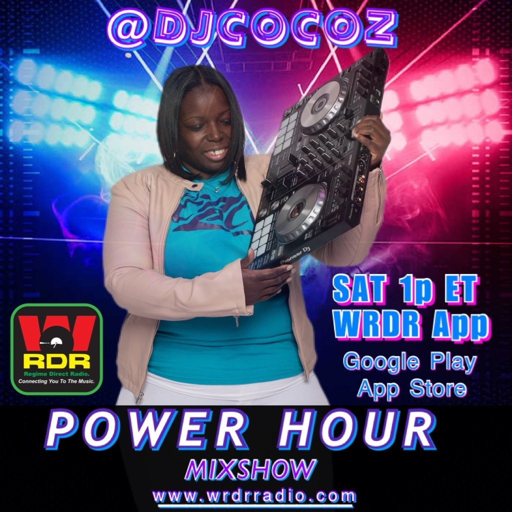 It's The Power Hour with DJ CoCo-Z every Saturday @ 1PM ET on WRDR!   Don't miss it! Listen with a Friends & Tune in!  **Choose Your Way to Listen** https://t.co/qeDWFkoZYF  #djs #hiphop #music #radio #wrdr #regimesquaddjs #rap #listen #digitalradiotracker #TheSuperStarMaker https://t.co/gcXrtr19hU
