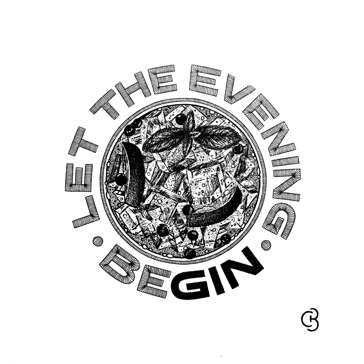 3 weeks in, so thought it was time for a GIN - Day 21's theme from Tanya 🍸 let the evening beGIN...  #gin #quote #ginlovers #ginandtonic #Inktober #inktober2020 #penandink #handdrawn #drawing #illustration #fineart #giftideas #art #design #localartist #highstridesoc #birmingham https://t.co/zCYIVOsSRm