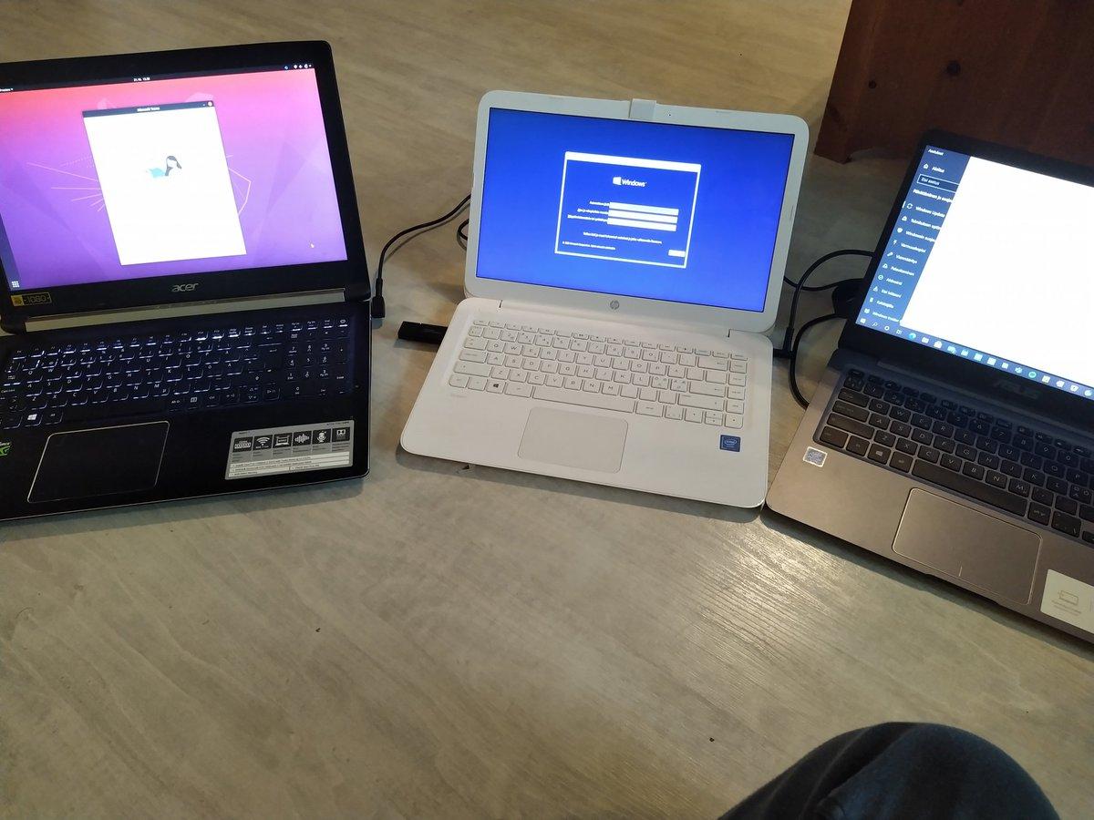 Nörttäilyä #pc #laptops #linux #ubuntu #windows #windows1020h2 #geek #nerdlife #updates #acer #asus #hp https://t.co/bkdWFGXDfB