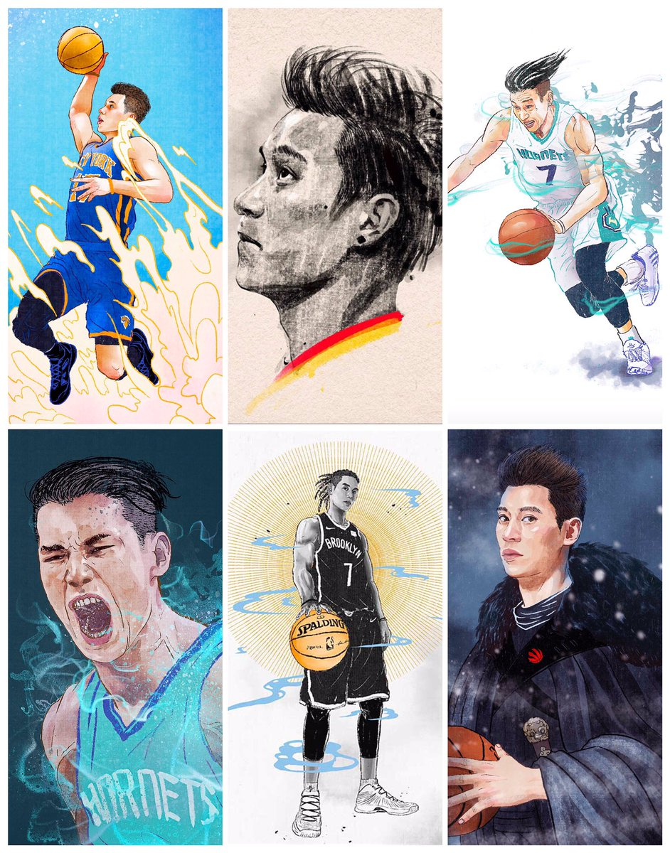 As a @JLin7 fan since I watched him againsted John Wall when he was wearing @harvard jersey, I really hope he could back to @nba next season... All the best to you🔥🔥🔥  #illustration #illustrator #jlin7 #sports #director #jeremylin #basketball  #newyork #林書豪 @fansided @espn https://t.co/hSvA0tbh3O