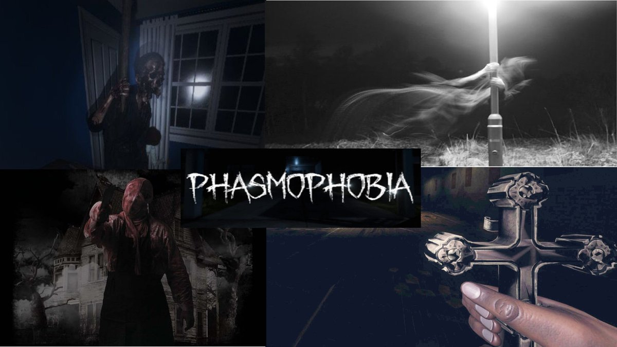 2nd #livestream is now up on the YouTubes  https://t.co/dlzWG75xiT  #Phasmophobia    #YouTubeLive #youtubegaming #SupportSmallStreams #gaming #horror #jumpscares https://t.co/sILnlsyl2c