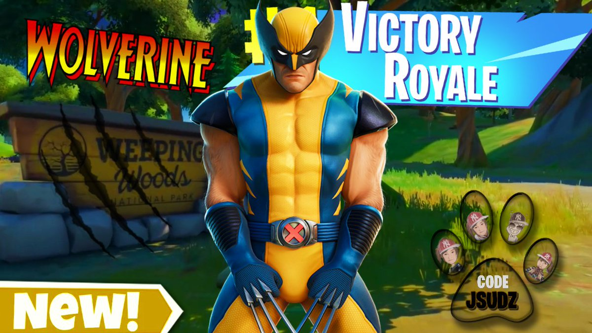 🐾New Upload🐾 Drop a like and a comment! Subscribe if you're new! Use CODE:JSUDZ! And stay Pawsome!  #fortnite #marvel #youtubegaming #gamergirl #retweet  https://t.co/XnmhVQt3D1 https://t.co/UbPxV92iGc