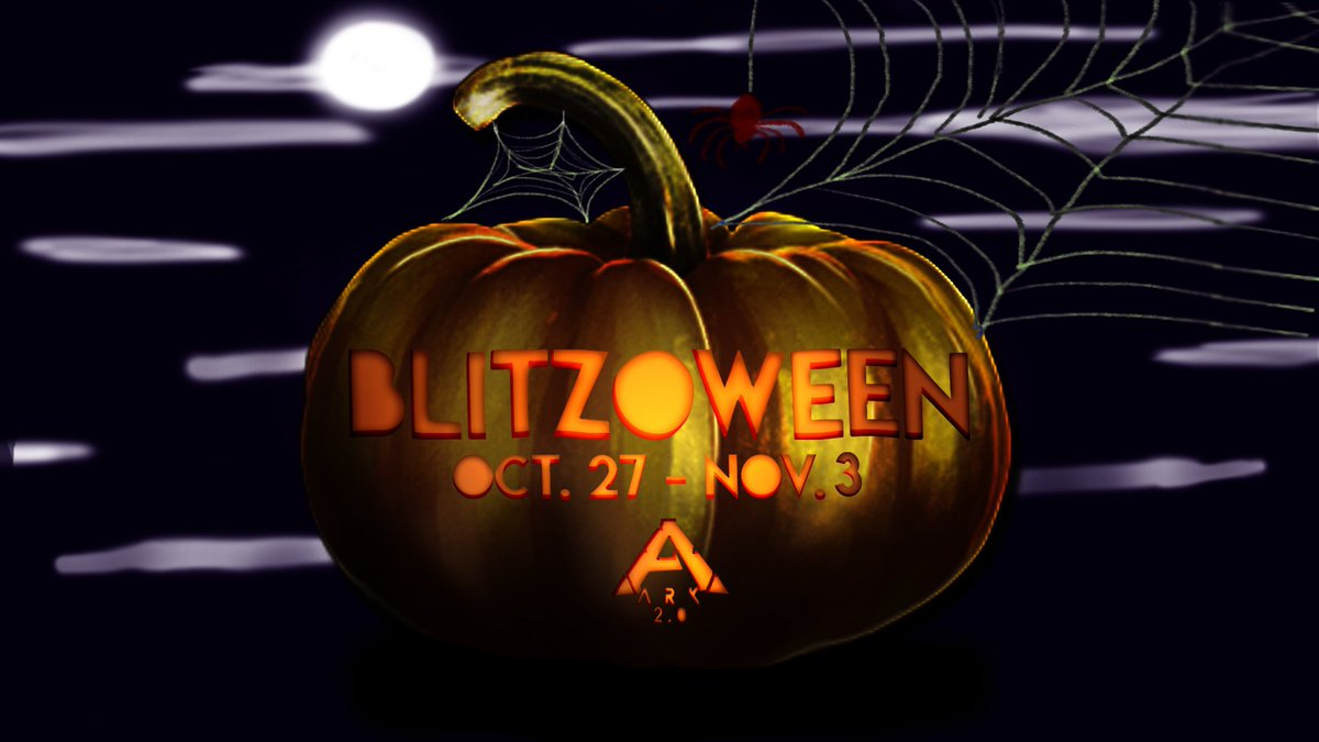 Blitzoween is coming to ARK Mobile next week! This rare event combines Blitz Week with this year's Halloween festivities.   🎃 Wild Eerie Spawns in Multiplayer 🎃 Pumpkin Drops 🎃 Trick or Treat Dungeon Chests 🎃 ..and more!  For more info visit: https://t.co/gNrXwR1nx2 https://t.co/NMbOcZTbv3