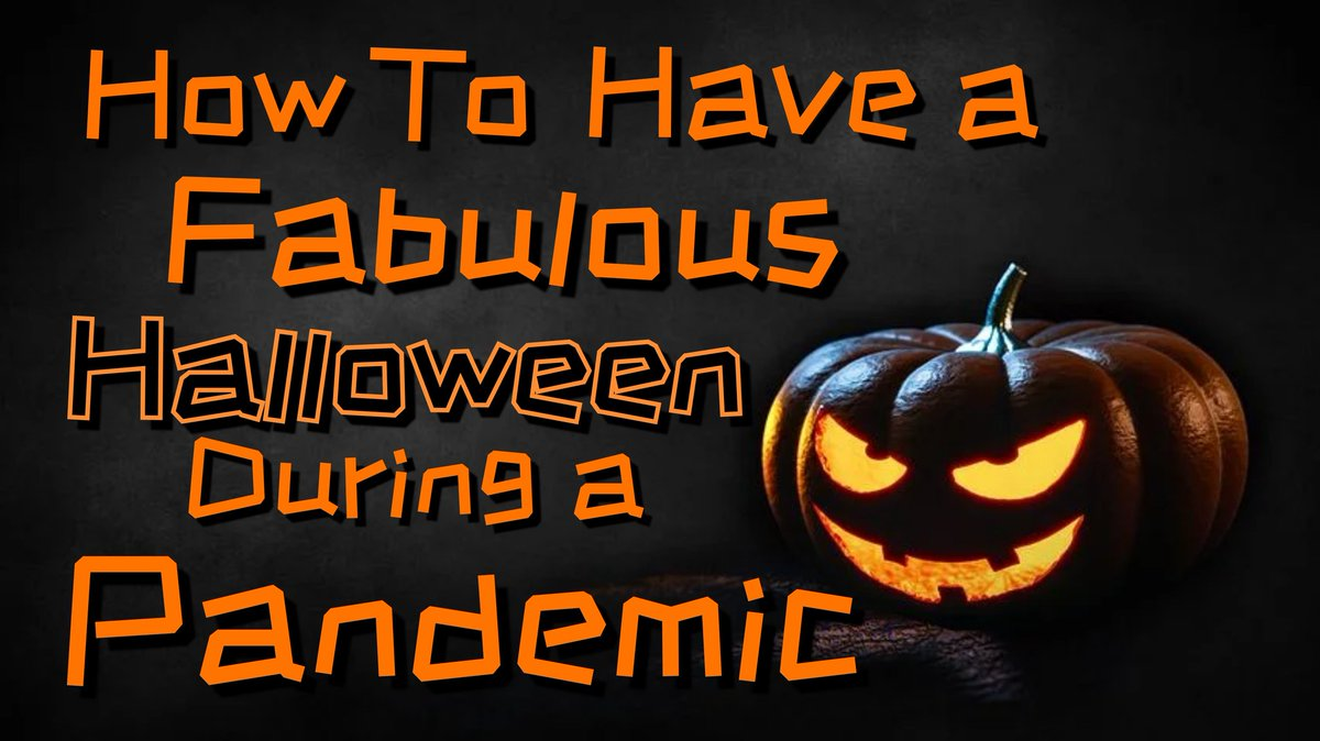 🎃🎈🎃Don't allow the #pandemic to spoil your #Halloween 🎃🎈🎃  ↪️ https://t.co/3bhSQigJQc ↩️  #psychology #mentalhealth #howto #mentalillness 🧠 #healing #coping #anxiety #anxietyrelief #depression #holiday #workforce #WritingCommunity https://t.co/VL5vaX46Gy