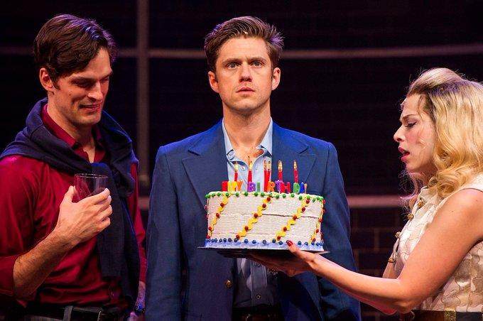 Happy birthday to Aaron Tveit!