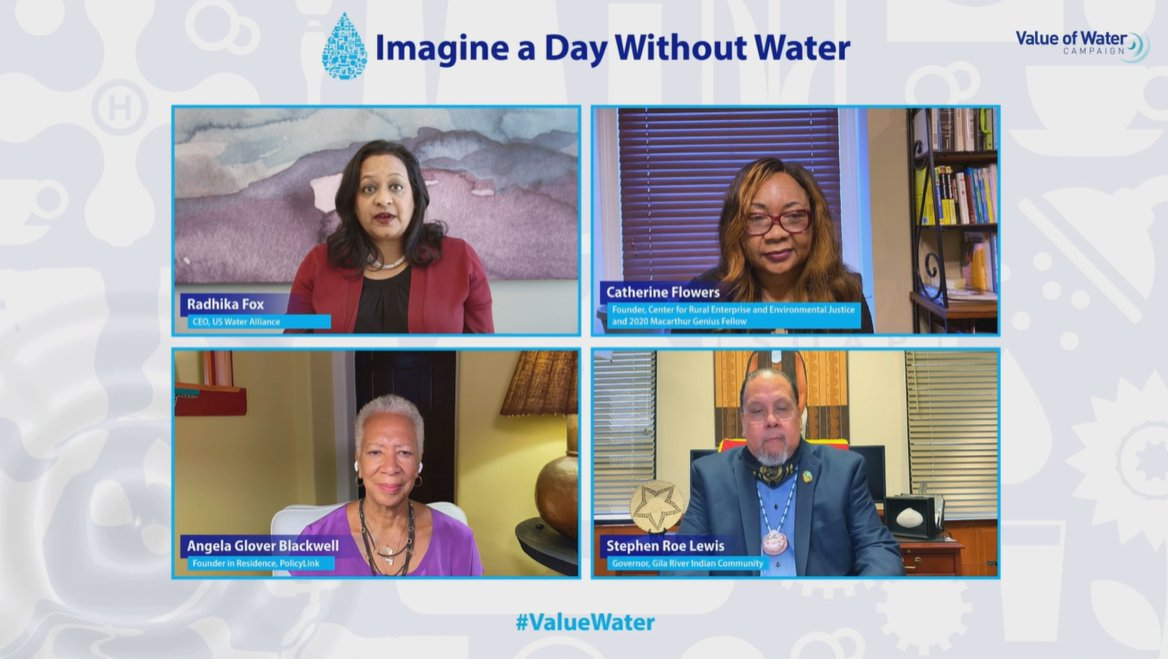 LOOK AT THIS AMAZING PANEL!! @TheValueofWater #valuewater tune in live now here: https://t.co/uOUZaMYYx5 (if you missed it, we'll share out a youtube link soon!) https://t.co/7vAtntMLYo