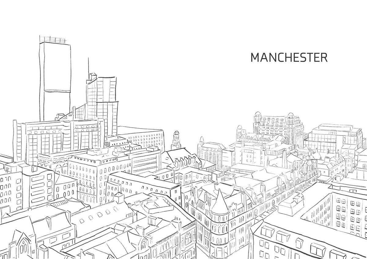 Excited to share the latest addition to my #etsy shop: Mnchester sketch (also available in colour) #white #black  #manchester #monochrome #england #art #uk #city #cityscape #cityart #buildings #drawing #sketch #instagood  #instaartist #gift #present #xmas  https://t.co/cEoyy6cCwQ https://t.co/uPdzYqnQwN