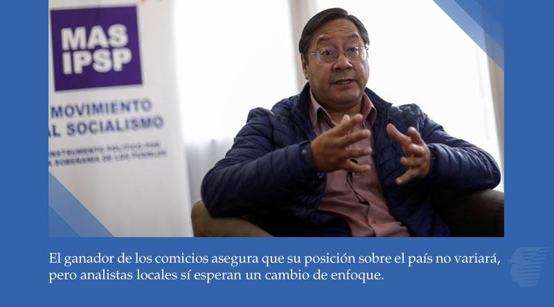 "Luis Arce promete ""buena vecindad"", pero mantiene la línea de Evo Morales respecto de Chile https://t.co/1vLjoZdBx2 https://t.co/fQRoZgRxdh"