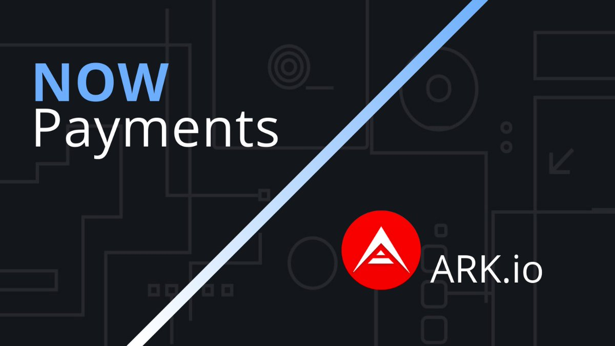 NOWPayments is happy to support $ARK! Now, everyone can accept #ARK as payment or pay and donate with it - anything is possible!👍 @ArkEcosystem is an amazing project, and we are looking forward to our partnership!  https://t.co/IMBDiFg37x  #NOWPayments_updates #cryptocurrencies https://t.co/Q7cgWaaJlZ