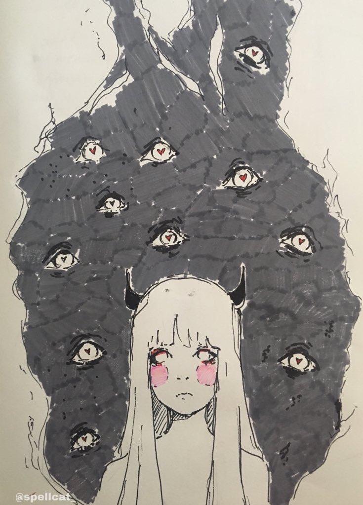 Old  💕 💕 💕 #anime #doll #art #artwork #artworks #doodle #sketchbook #sketch #kawaii #cute #illustration #PortfolioDay #artist #commissionsopen #Commission #artist #animegir #waifu #drawing #draw https://t.co/UiAOoQIAeG