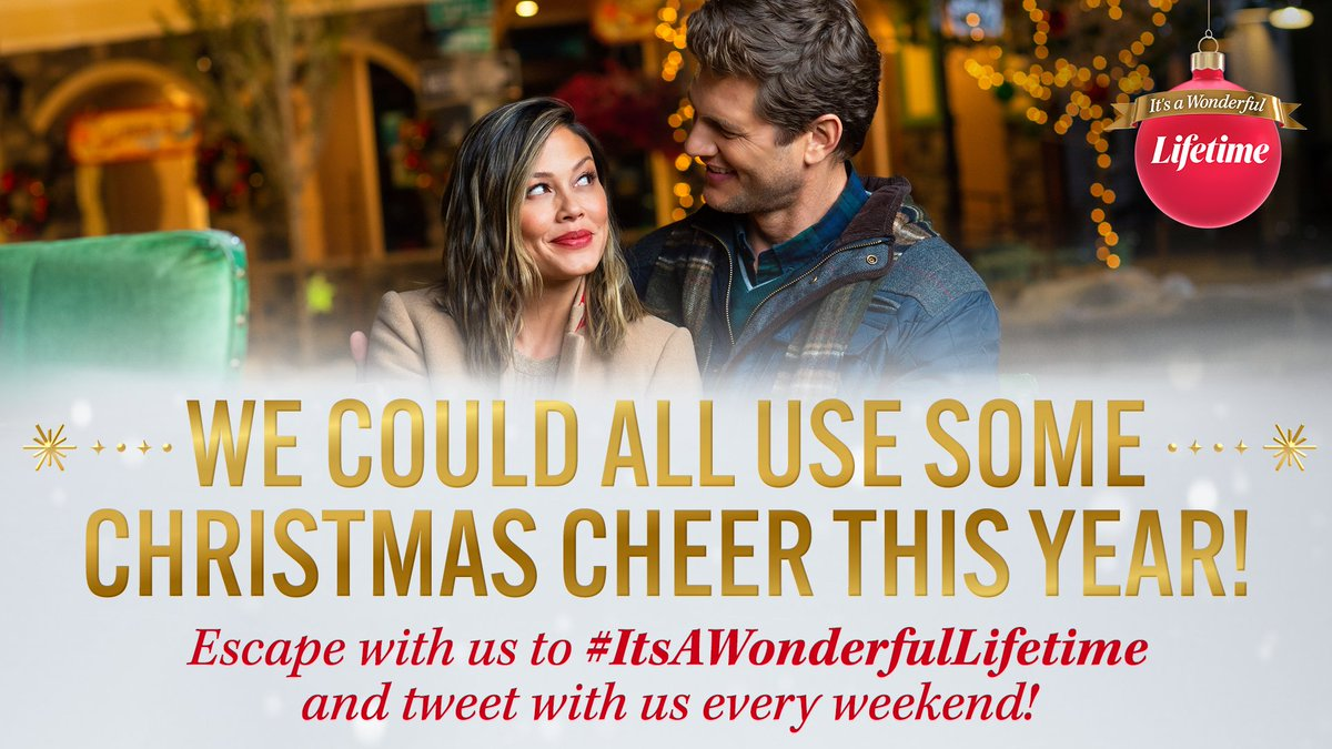 A round of Santa-plause, please! 👏 🎅 Join us every weekend during #ItsAWonderfulLifetime to tweet with us about your fav holiday movies, kicking off this weekend! 🎄 https://t.co/ak7RLmkG6P