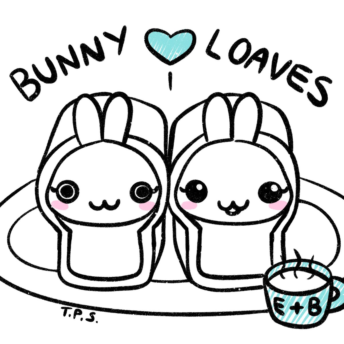 Day 16/100: Let me introduce you to another fine type of bunny bakery. You'll spot a bunny loaf when a bunny is sleeping with their legs all tucked in. They're best served with snuggles 💖  #the100dayproject #100thingsmybunniesdo #BunnyLoaf #kawaiiart https://t.co/wPTfkLu2SV