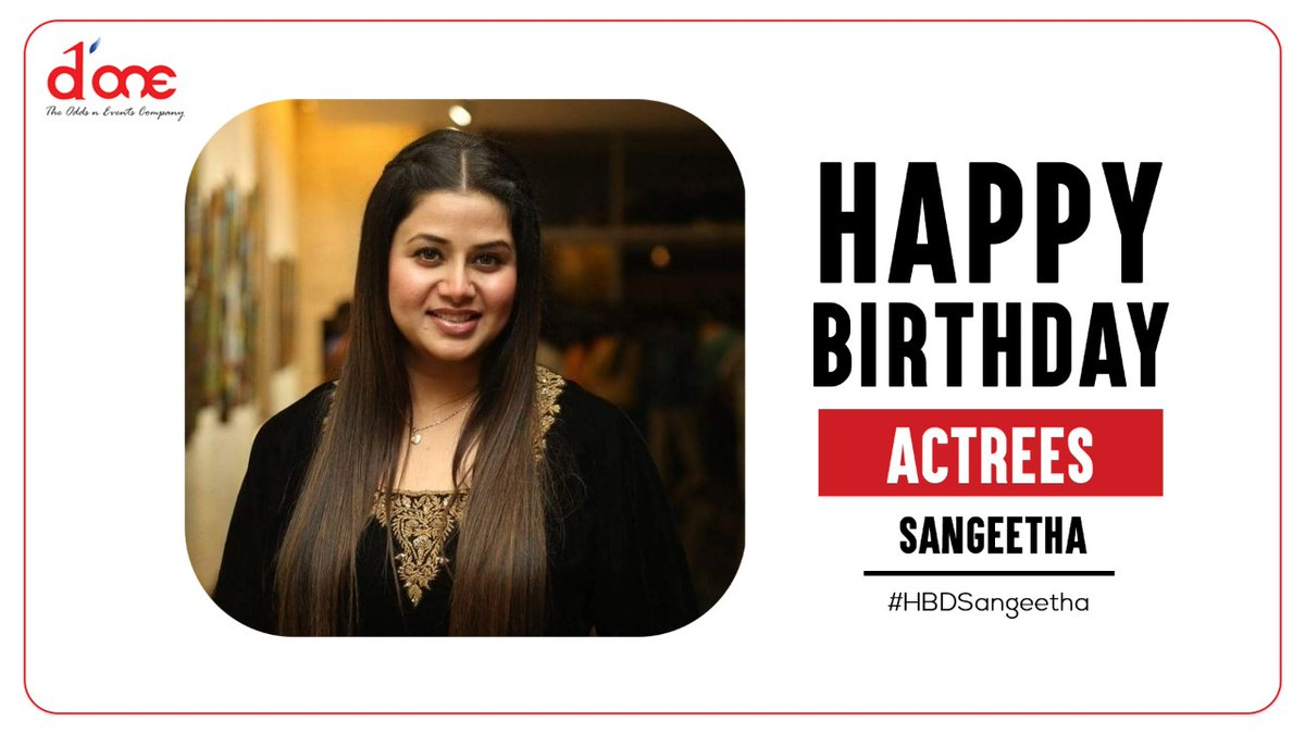 Many more happy returns of the day @sangithakrish #HBDSangeethaKrish #HBDSangeetha https://t.co/RTUXJf2Hqk