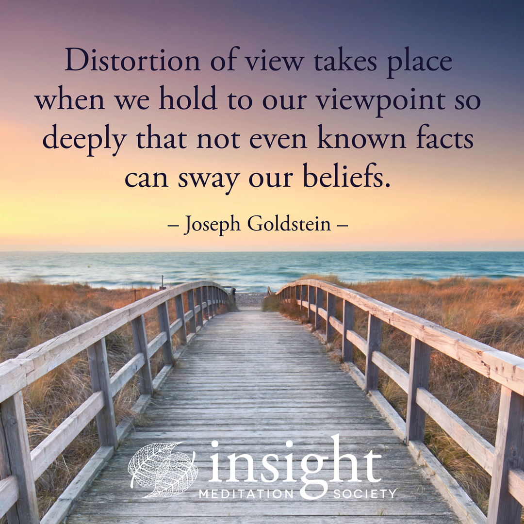 In these turbulent times, the practice of mindfulness explores the understanding of our lives more deeply. Join Joseph Goldstein, @SharonSalzberg & Andrea Castillo for Mindfulness: The Gateway to Insight Oct 27 – 30. bit.ly/jgss20 #WednesdayWisdom #JosephGoldstein