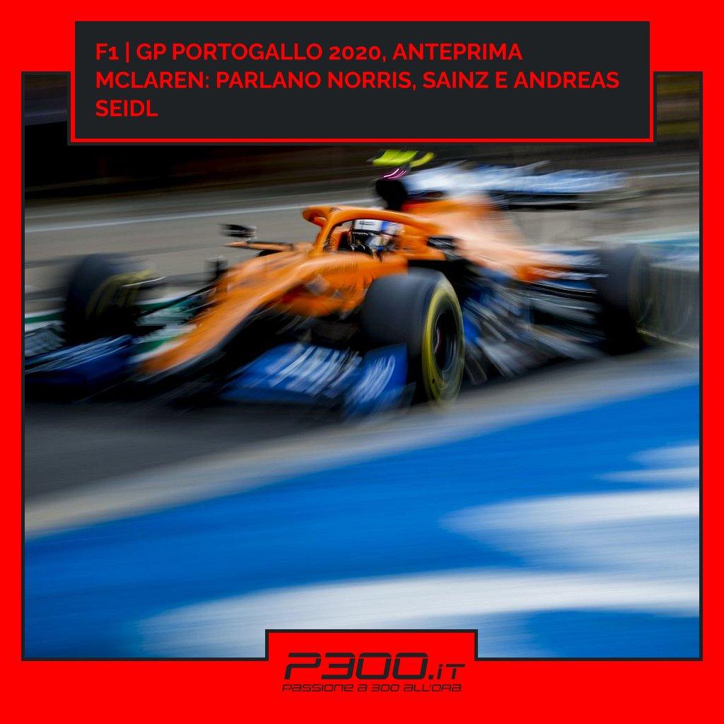 F1   GP Portogallo 2020, anteprima McLaren: parlano Norris, Sainz e Andreas Seidl  ✏ di Gianluca Zippo 📄 https://t.co/2zzUnedqDW  #f1 #mclaren #norris #portugalgp #sainz https://t.co/lJ9KXTVmAW