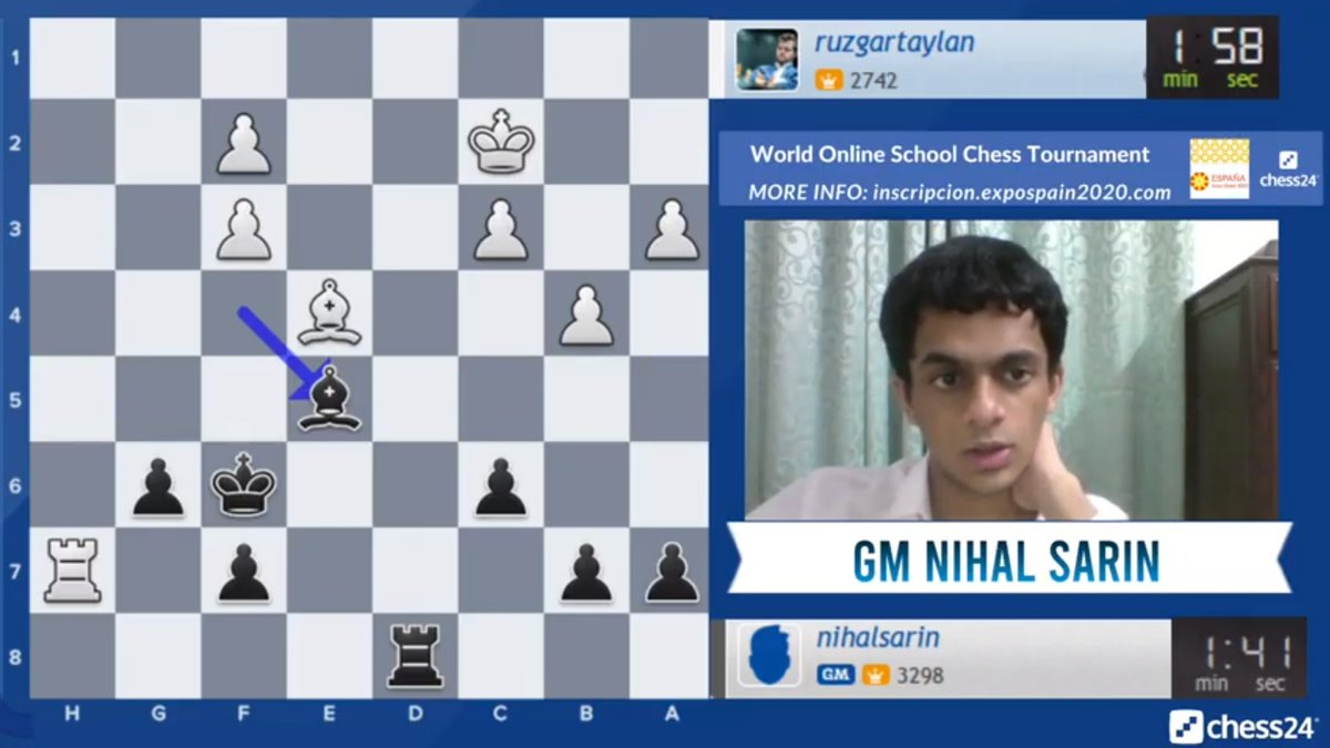 test Twitter Media - Shakhriyar Mamedyarov is playing Banter Blitz now in Turkish, while 16-year-old Nihal Sarin is playing in English!  https://t.co/xVdjQXtA9I  #c24live https://t.co/DOB9ttp8rY
