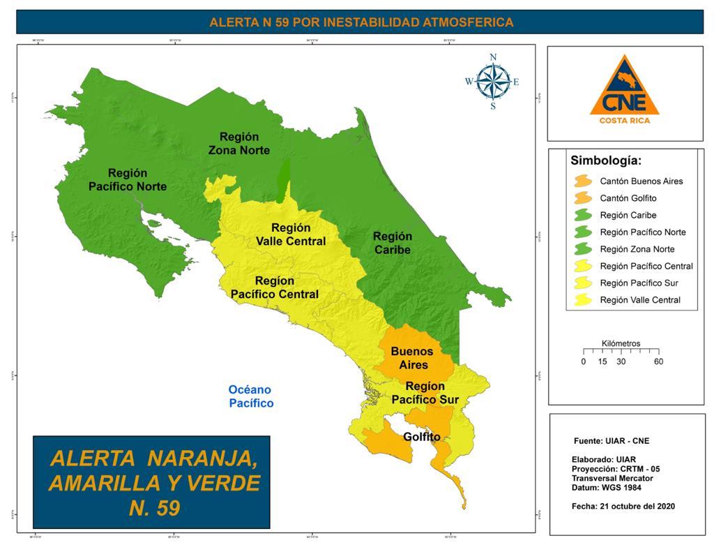 #EnDesarrollo: CNE amplía las alertas debido a las condiciones lluviosas y el paso de la Onda Tropical No.47 #NM935 https://t.co/vfjblzmhWv