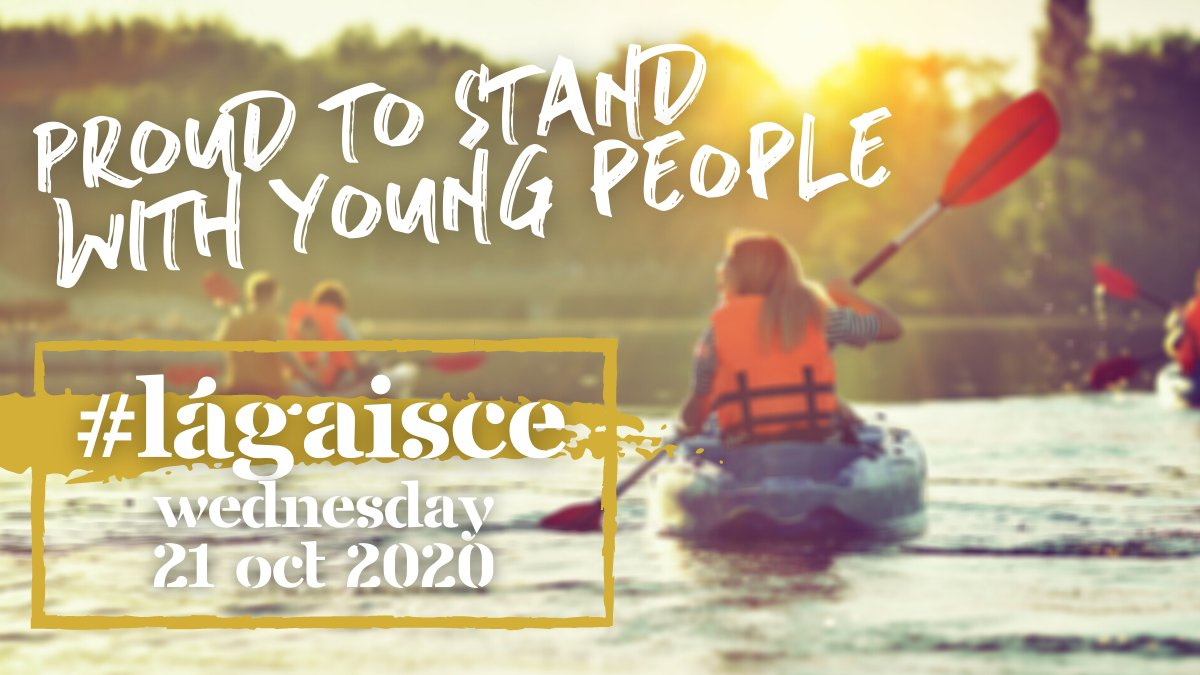 Happy #LáGaisce everyone 🥳 We're proud to stand with young people today and every other day.   @GaisceAward  #LáGaisce https://t.co/cZJ28vHc2V