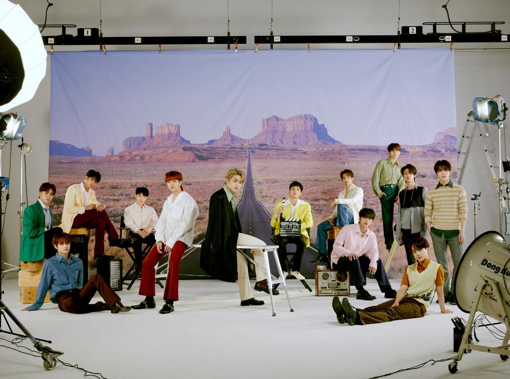 K-Pop group @pledis_17 is back with another new album full of hits! Hear the latest album, '; [Semicolon]' now: https://t.co/3evpCbOIzn #SEVENTEEN #Semicolon https://t.co/sLZkl1KHaG