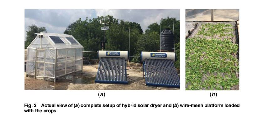 Performance evaluation and drying kinetics for solar drying of hygroscopic crops in vacuum tube assisted hybrid dryer https://t.co/KhtTnOCyBR #crops #solar #energy https://t.co/JOZc0ggizO