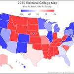 Image for the Tweet beginning: Since Monday's blog post, @ElecCollPolls