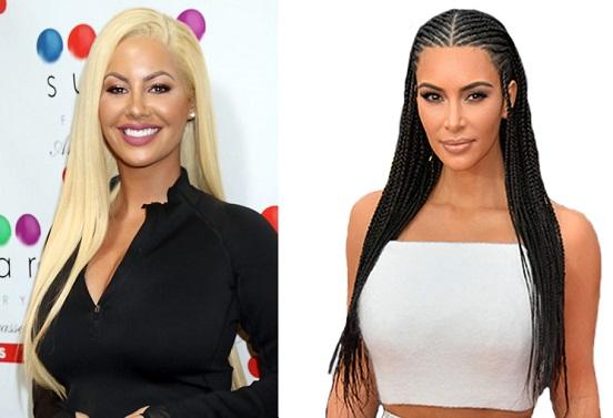 HAPPY BIRTHDAY  Amber Rose  and  Kim Kardashian
