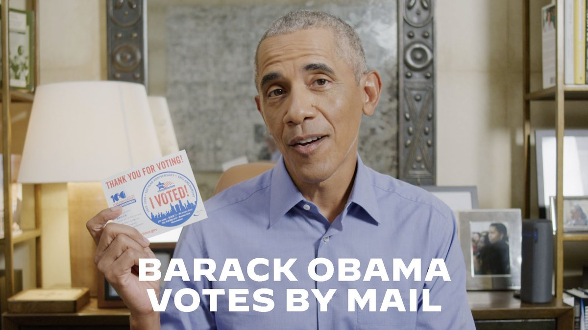 I just voted by mail for @JoeBiden and @KamalaHarris. If youre planning on doing the same, follow all the instructions carefully, and drop it in the mail or at a ballot drop box right away. Here, I'll show you: