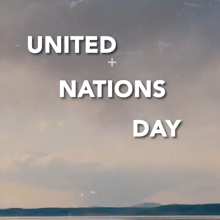 As we mark the @UNs 75th anniversary, our founding mission is more critical than ever. Let us come together and realize our shared vision of a better world - with peace and dignity for all. #UNDay #UN75