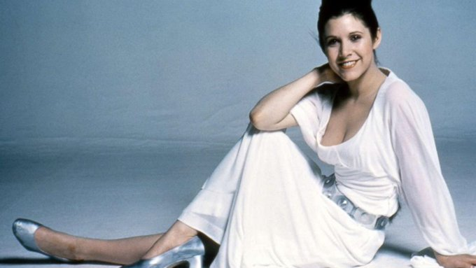 No one s ever really gone Happy birthday Carrie Fisher.