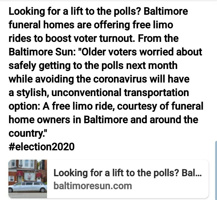 Timsomor Thoughts: This is how them old niccas in Baltimore be without asking for an agenda for Black people during election time and the #Wuhan. Hopefully it will take them all the way to the cemetery. #BlackNews #Bootlicks #NoTangiblesNoVote #CutTheCheck2020 https://t.co/tcqmMKkD8L