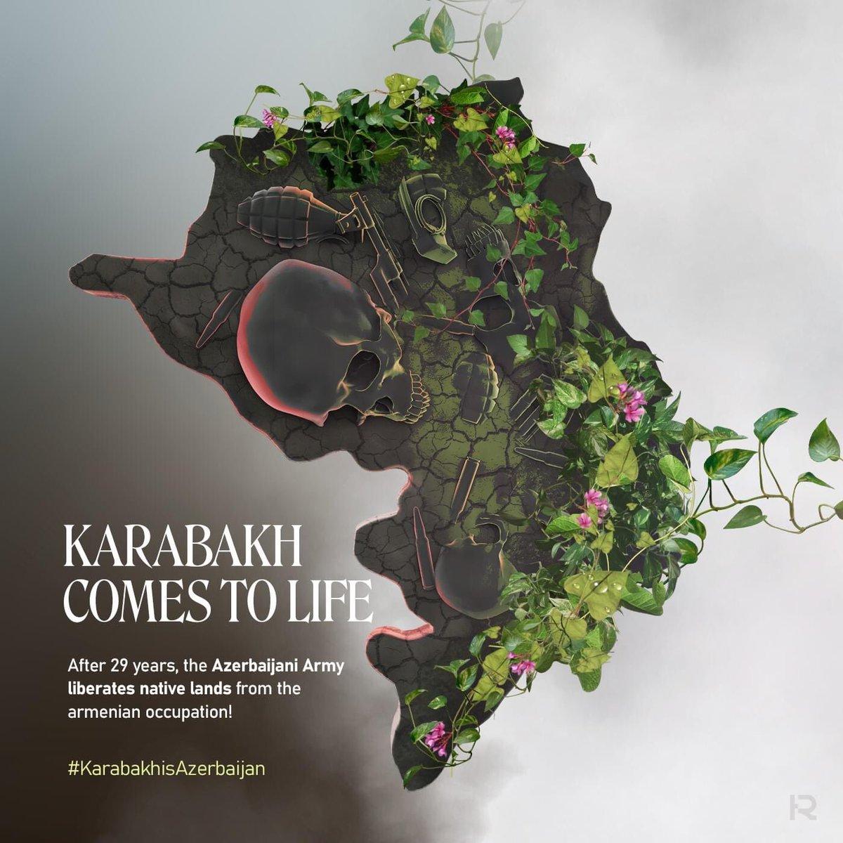 #KarabakhisAzebaijan #FocusOnKarabakh #StopArmenianOccupation #StopArmenianTerror https://t.co/8r1Mq7dxkO