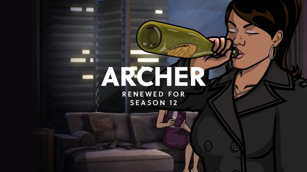 Bonne nouvelle ! FXX renouvelle #Archer pour une saison 12. #ArcherFXX https://t.co/YFWXWmWCKx