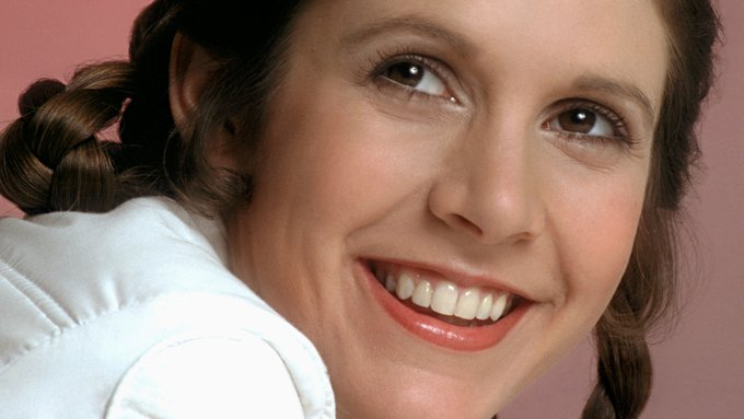 Happy birthday to the late, great Carrie Fisher