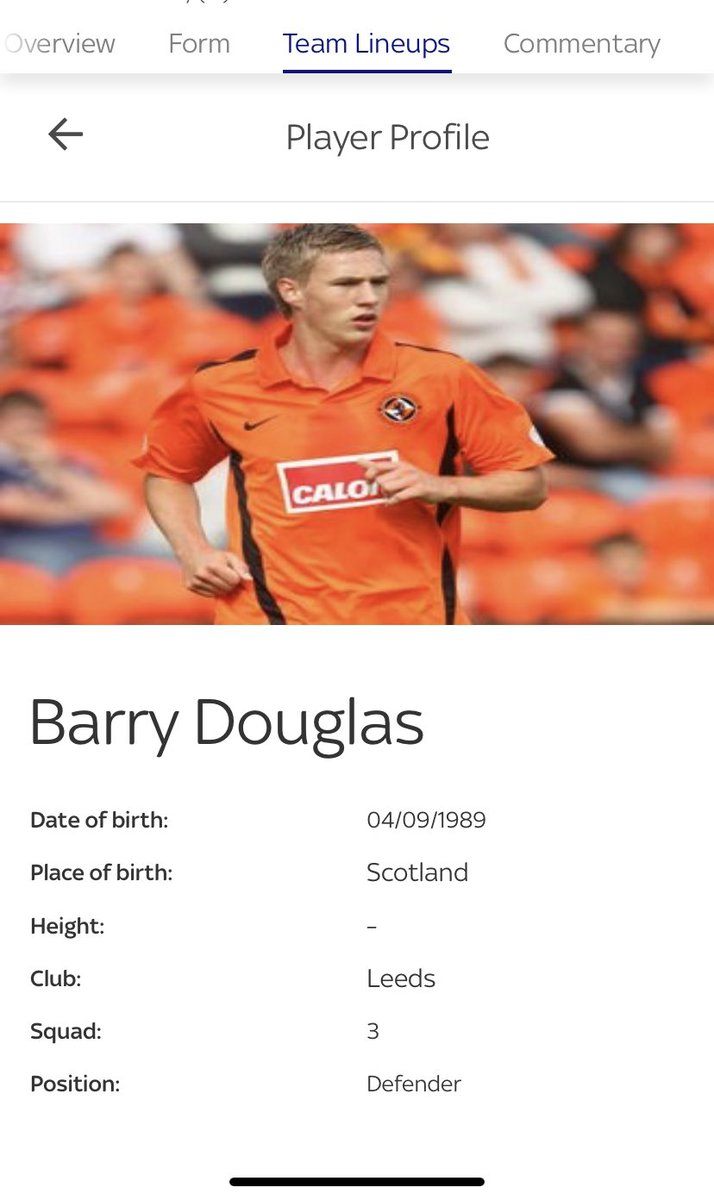 Fucking hell @SkySports surely you have a more recent picture of @barrydouglas03 than when he was 14 😂😬🙈 #lufc #brfc https://t.co/VTcZjflo0P
