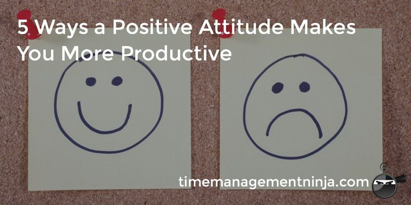 """""""A positive attitude and action is what gets work done."""" Read: 5 Ways a Positive Attitude Makes You More Productive https://t.co/g9U0XOt5YH #timemanagement #professionalgrowth #taskmanagement #doittoday #workhappy  #productivityhack #smartgoals #goodhabit #productivityhabits https://t.co/eyeV7MLwuQ"""