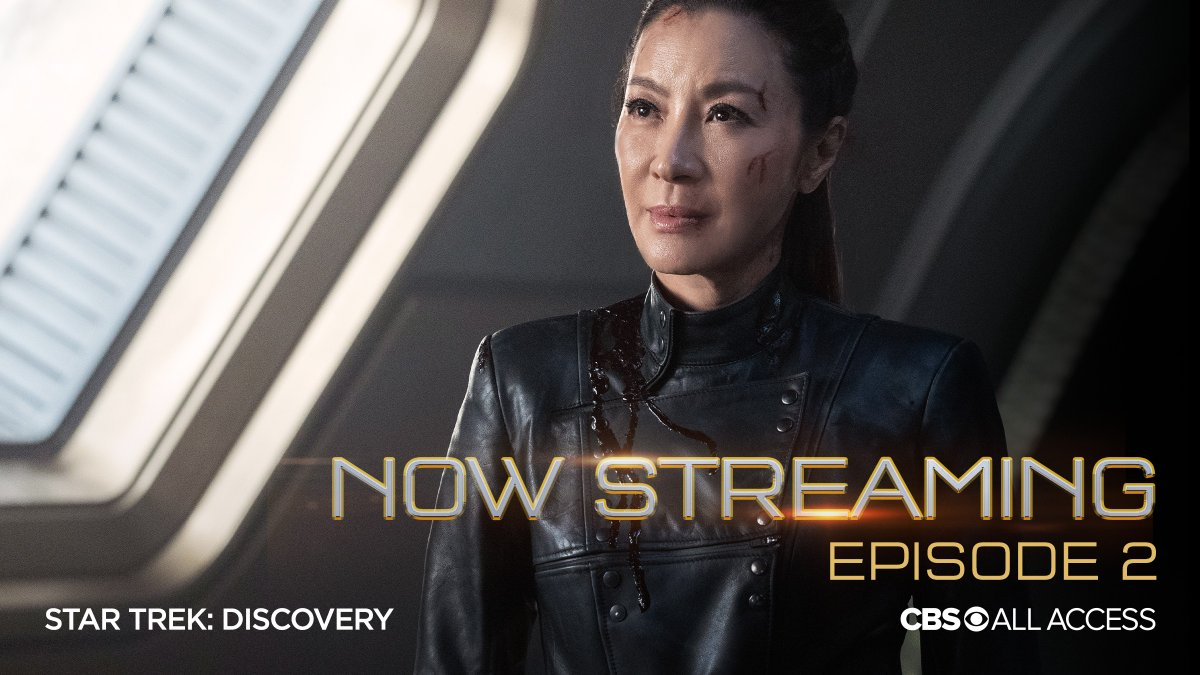 The U.S.S. Discovery crew is back! Stream a new episode of #StarTrekDiscovery now, only on @CBSAllAccess. https://t.co/HkSpyuSgVD