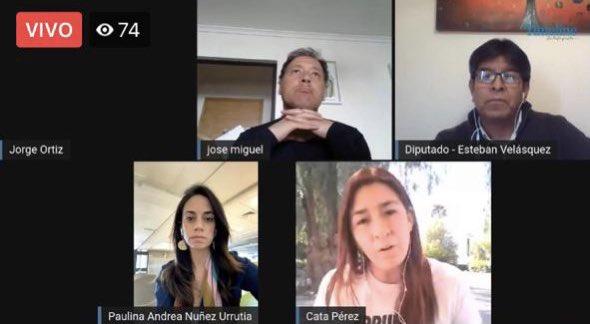 #Antofagasta   Panel de parlamentarios de la región, conversaremos sobre el plebiscito, sus alcances y proyecciones.   Panel: Diputada Paulina Núñez, Diputado Esteban Velásquez, Diputada Catalina Pérez y Diputado José Miguel Castro.    #StreamingTL   https://t.co/eMPquZIuXG https://t.co/obnT0BGVIt