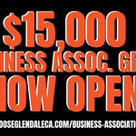 Image for the Tweet beginning: Applications for @MyGlendale's $15,000 Business