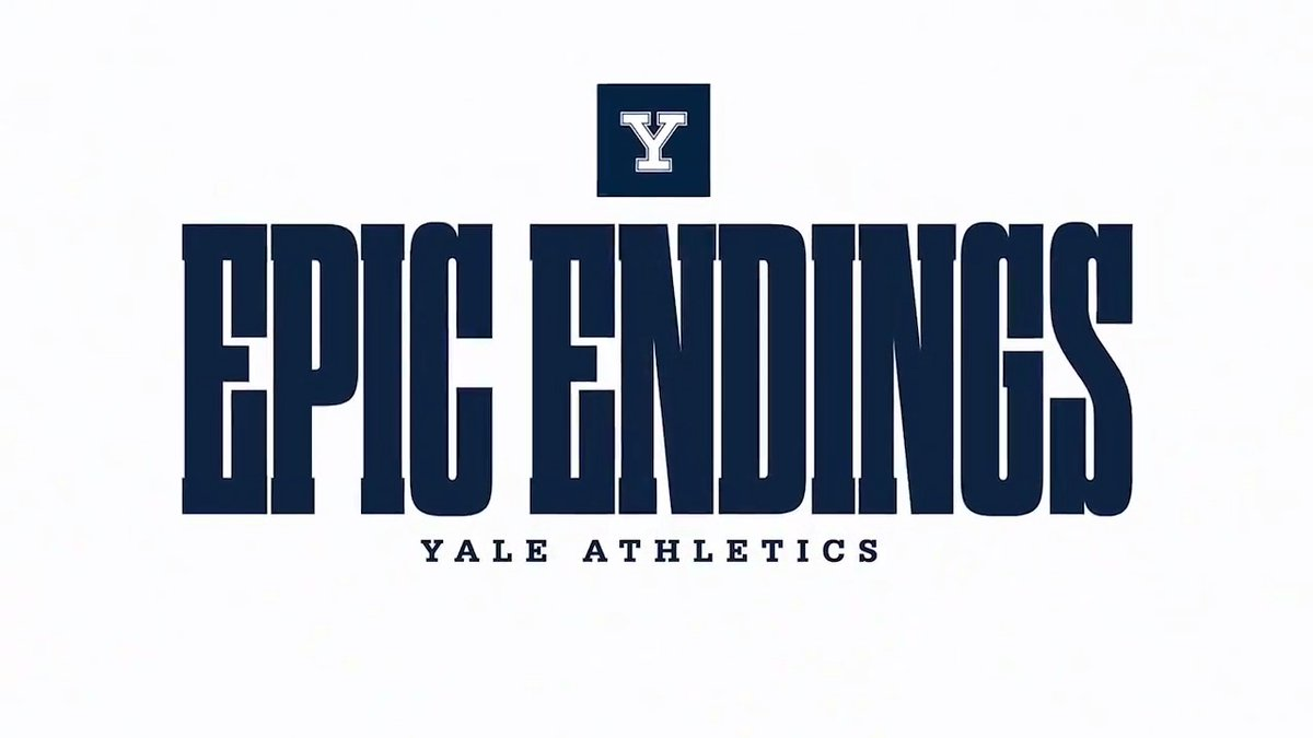The year is 2014. @YaleFootball is celebrating the 100th anniversary of the Historic Yale Bowl with a visit from Army. After four quarters of play were all tied up 43-43... #ThisIsYale | #EpicEndings