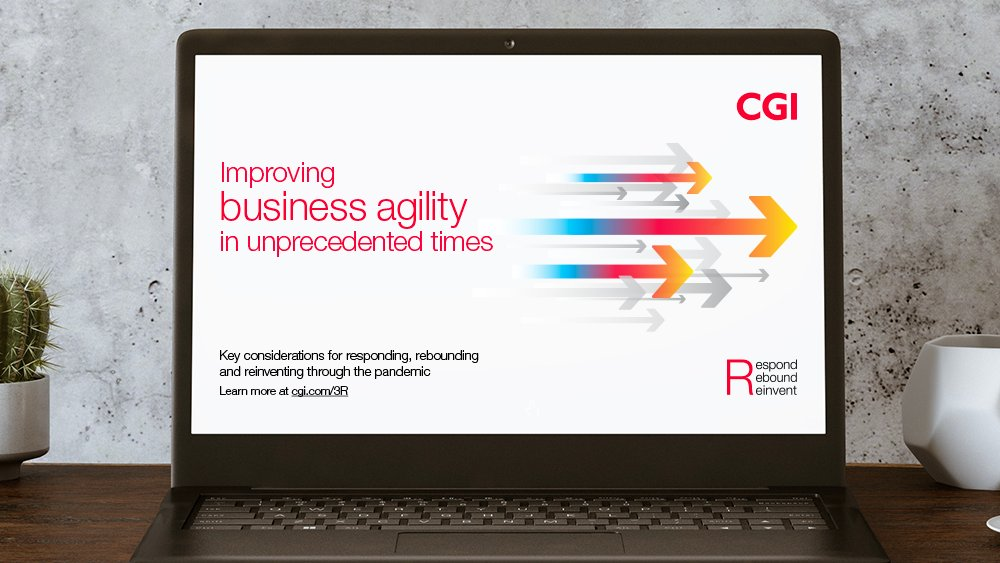 Our white paper on improving #businessagility shares leading #agile practices and top recommendations for rebounding and reinventing through the pandemic. Read more: https://t.co/tYqwmrDdCN #CGIClientInsights #CGI3R #agility https://t.co/3mMgOgQThu
