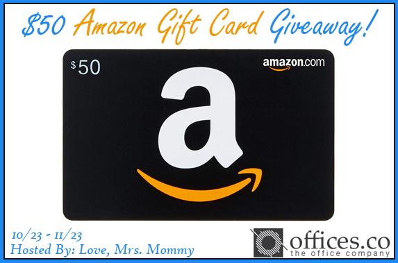 #WIN a $50 #AMAZON Gift Card! Perfect for #holiday #shopping and more! #GIVEAWAY #Halloween #Thanksgiving #Christmas #Contest #Free #Freebie #Amazonfinds #shoptillyoudrop @Love_MrsMommy