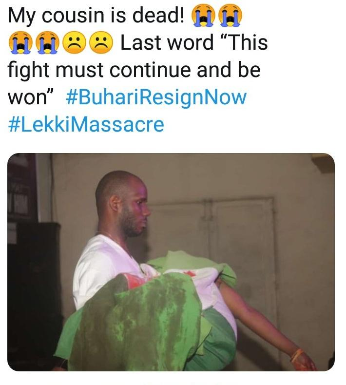 Only victory can bring justice to our falling heros🕊️🕊️#Lekkimassacre #StopPoliceBrutality #EndBadGoveranceInNigeria https://t.co/JYob3611s3