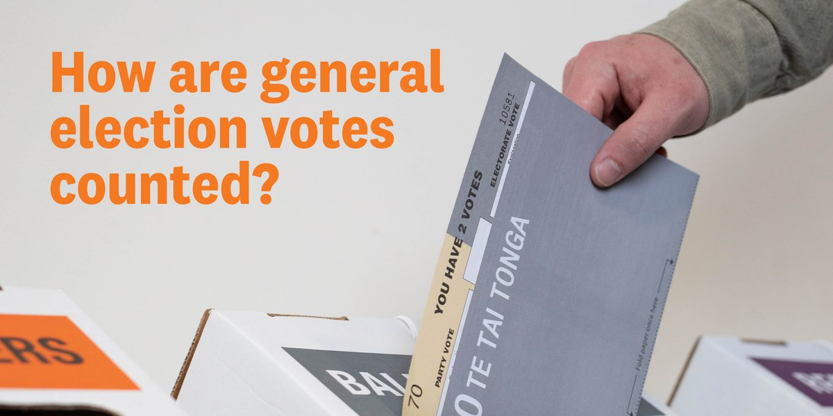 On election day almost 2.4 million voting papers for the general election were counted by 20,000 people at 2,500 locations around the country. Now every vote will be counted again along with an estimated 480,000 special votes. Check out the whole process: https://t.co/aqgb9N8lMV https://t.co/3gFqdbhLIM
