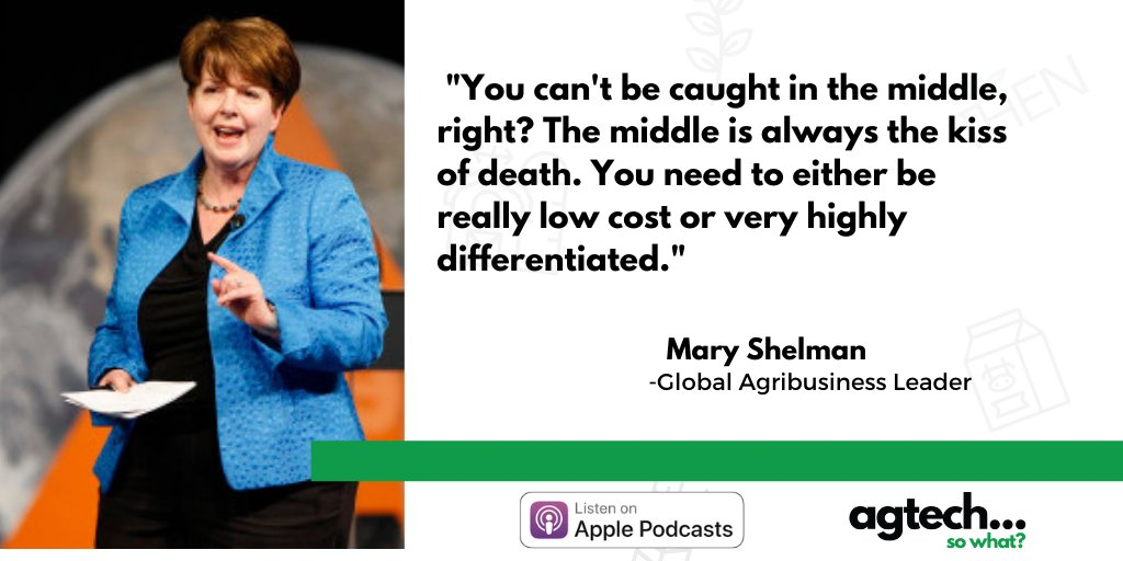 Defend, defy, develop or #disrupt? Our latest pod is out! Listen to @MaryShelman1, a global #agribusiness leader - on how food and #ag companies are responding to growing consumer demands to be more #sustainable. She's identified 4 major trends.  🎧Listen: https://t.co/XrNAwiozQd https://t.co/Pu566U8eIZ