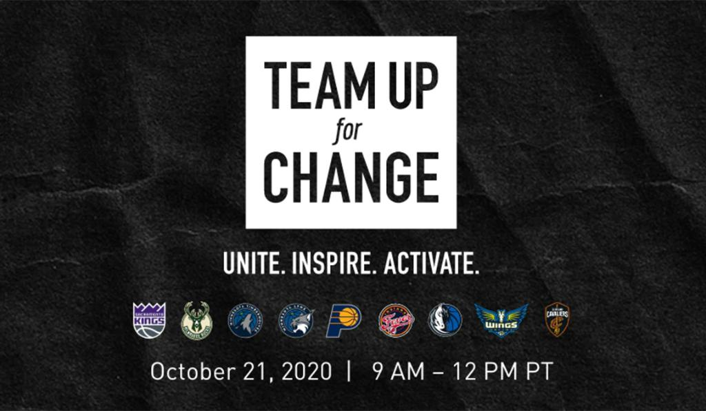 Take a look back at the powerful discussions and more from the third installment of Team Up For Change  📝 » https://t.co/reEljUxdHs https://t.co/6EwrSLwgtb