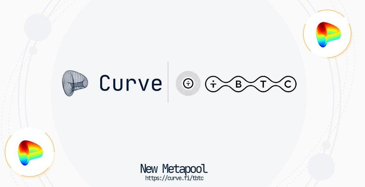 Tweet by @CurveFinance