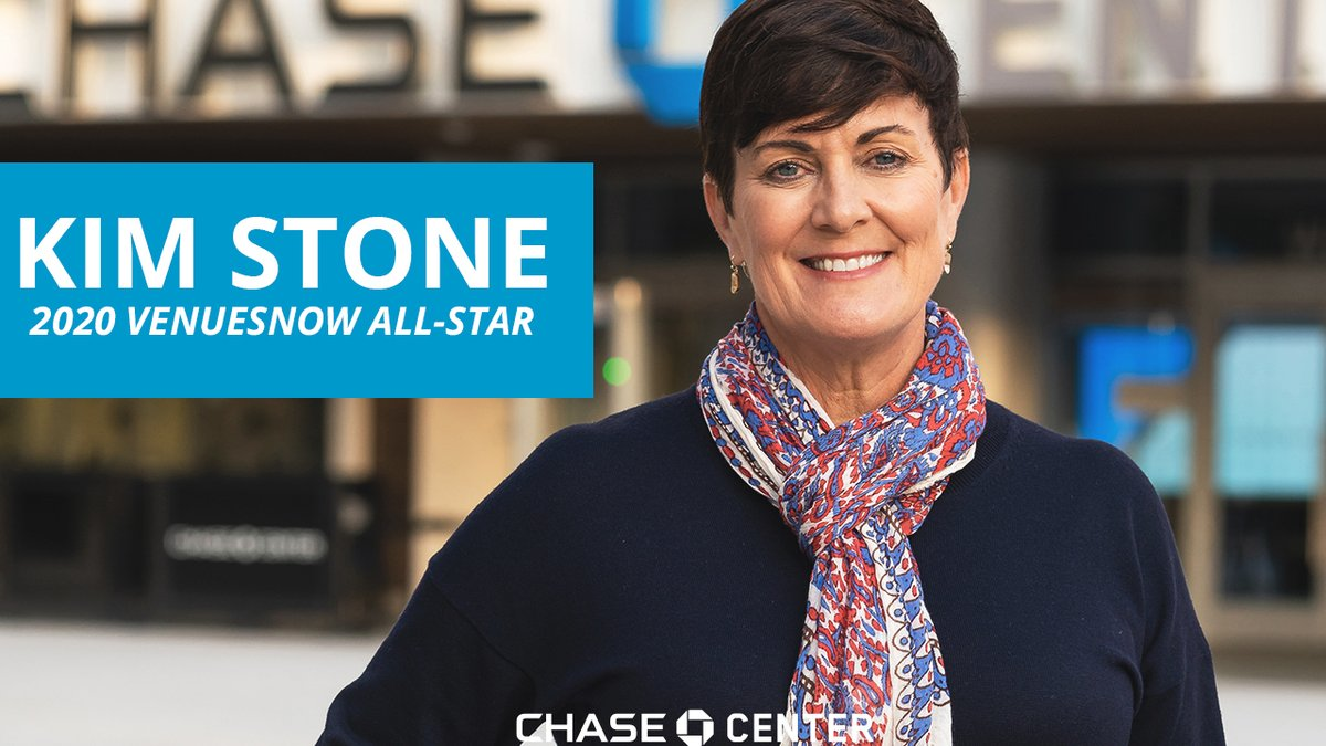 Chase Center General Manager Kim Stone has been named a @Venues_Now 2020 All-Star due to her impressive background & leadership in crisis communication.  Read more on her career, and what her expertise means for Chase Center operations. » https://t.co/qBfpl2ZHuN https://t.co/iGh0irBPAm