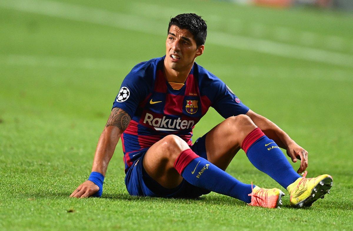 RT @brfootball: Luis Suarez's last two Champions League games:  Barcelona 2-8 Bayern Bayern 4-0 Atleti https://t.co/QxwTnIS0CX