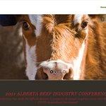 Image for the Tweet beginning: Alberta Beef Industry Conference postponed